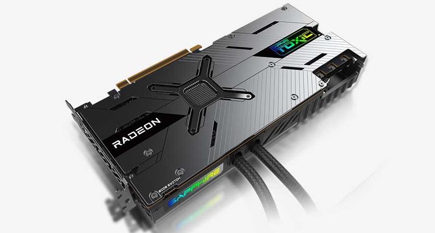 Sapphire 6900 XT TOXIC GPU