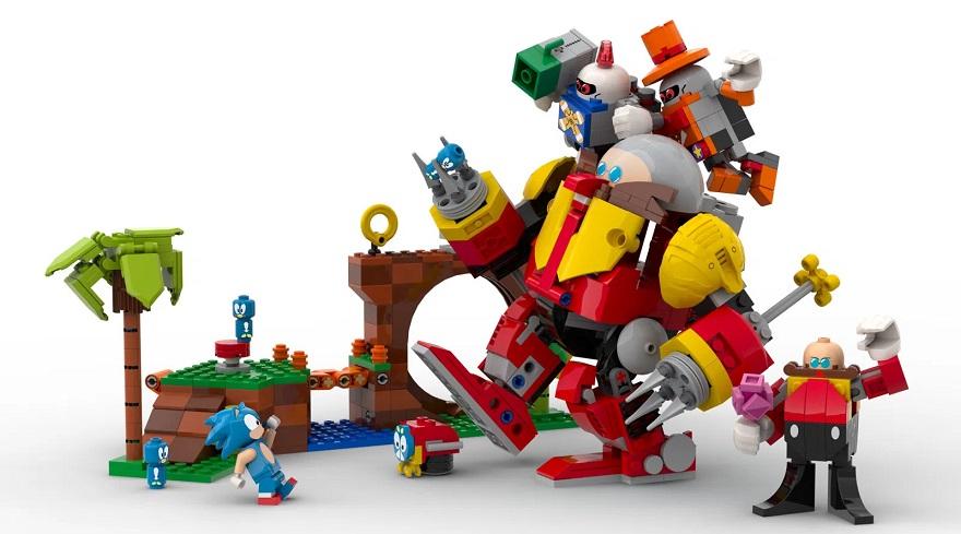 Sonic the Hedgehog Lego