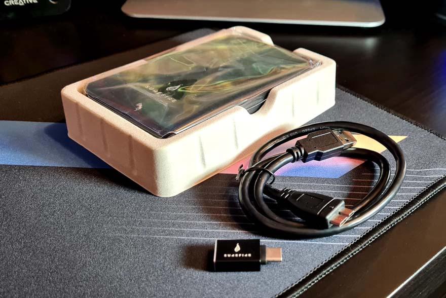 SureFire 1TB SSD & 2TB HDD External Drive Review