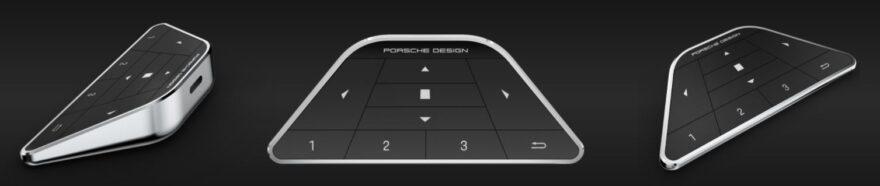 AOC AGON Porsche Design PD27 Monitor keypad