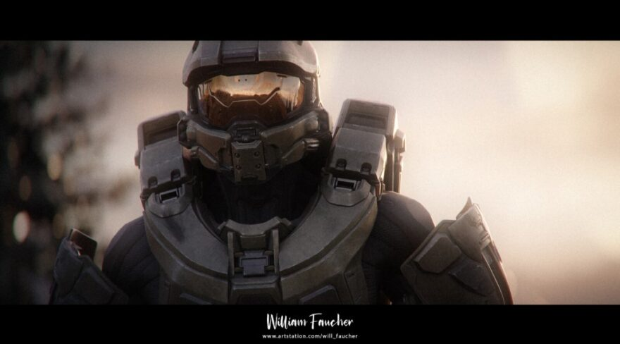 Artist Creates Incredible Halo 4 Cinematic in UE4