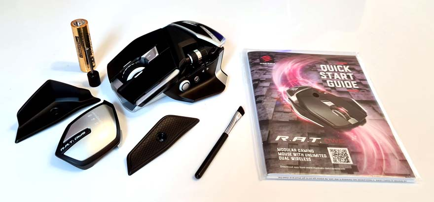 Mad Catz R.A.T. DWS Wireless Gaming Mouse accessories