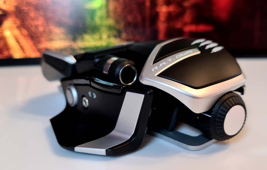 Mad Catz R.A.T. DWS Wireless Gaming Mouse left rear