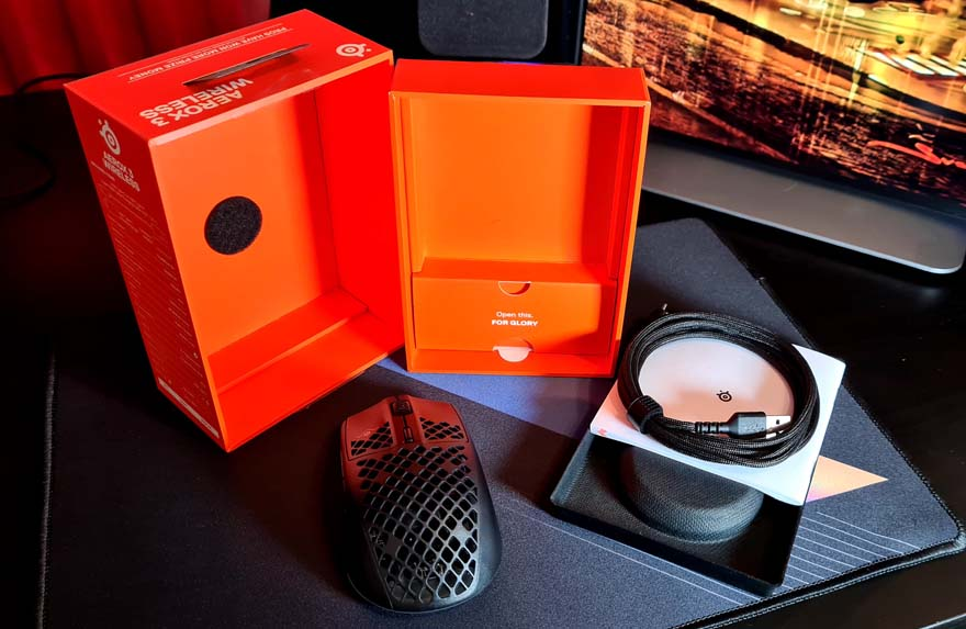 SteelSeries Aerox 3 Wireless Super Light Mouse Review