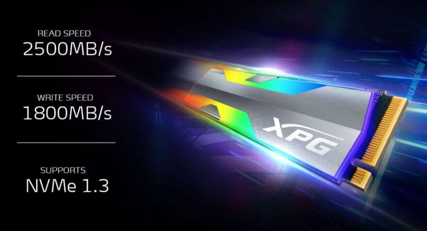 ADATA XPG Spectrix S20G M.2 2280 Gen 3x4 SSD Review