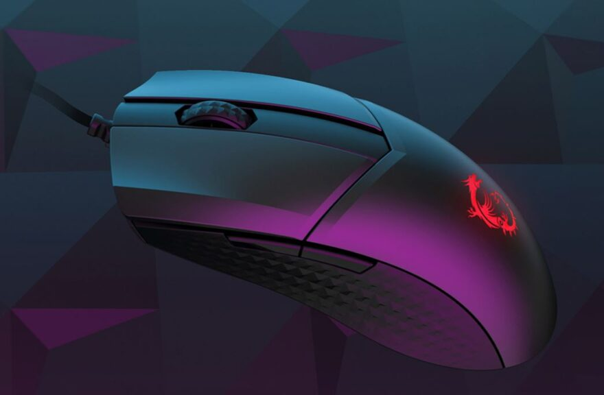 MSI Clutch GM41 Lightweight Gaming Mouse Review