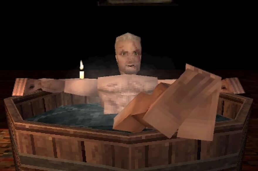 What The Witcher 3 Would Look Like for PS1!