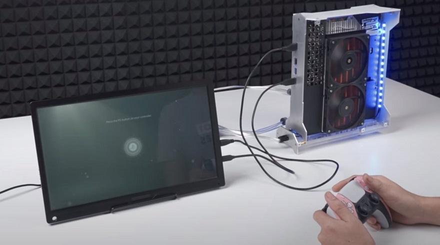 liquid cooled modded PS5