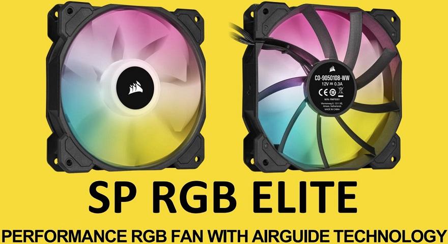Corsair SP120/SP140 RGB ELITE Fan Kit Review