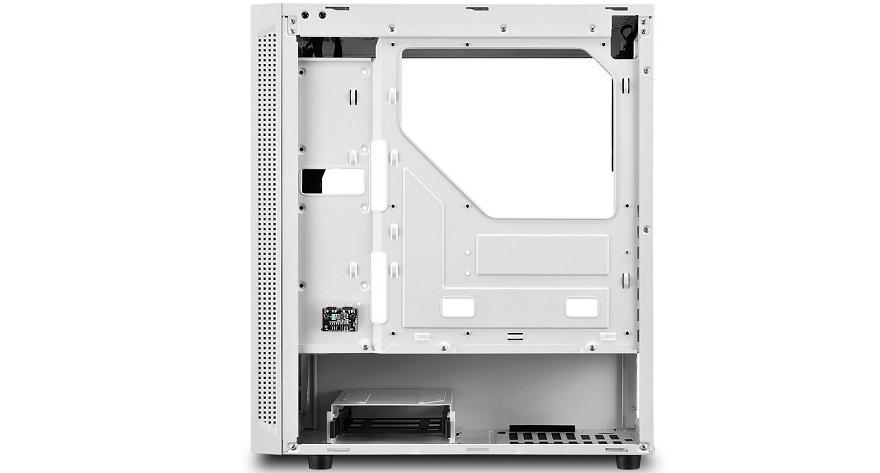 Sharkoon RGB Slider White Case
