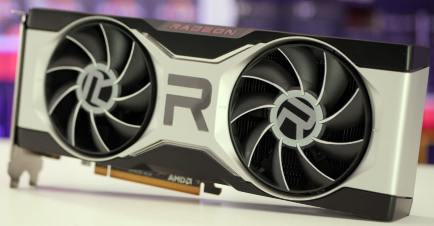 AMD RADEON RX 6700 XT fans tilted