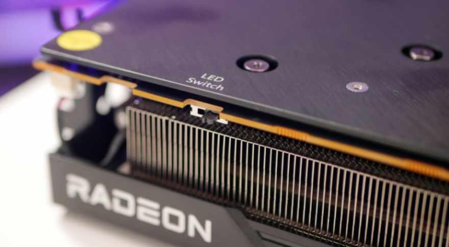 AMD RADEON RX 6700 XT led switch