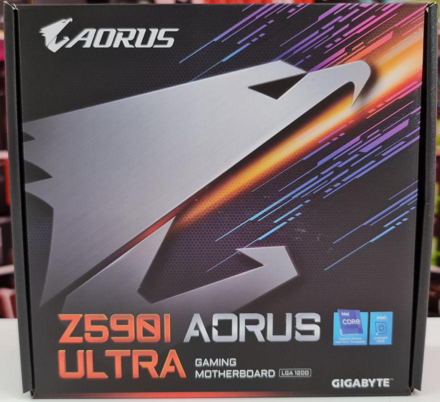 Gigabyte Z590I AUROS ULTRA Motherboard Box