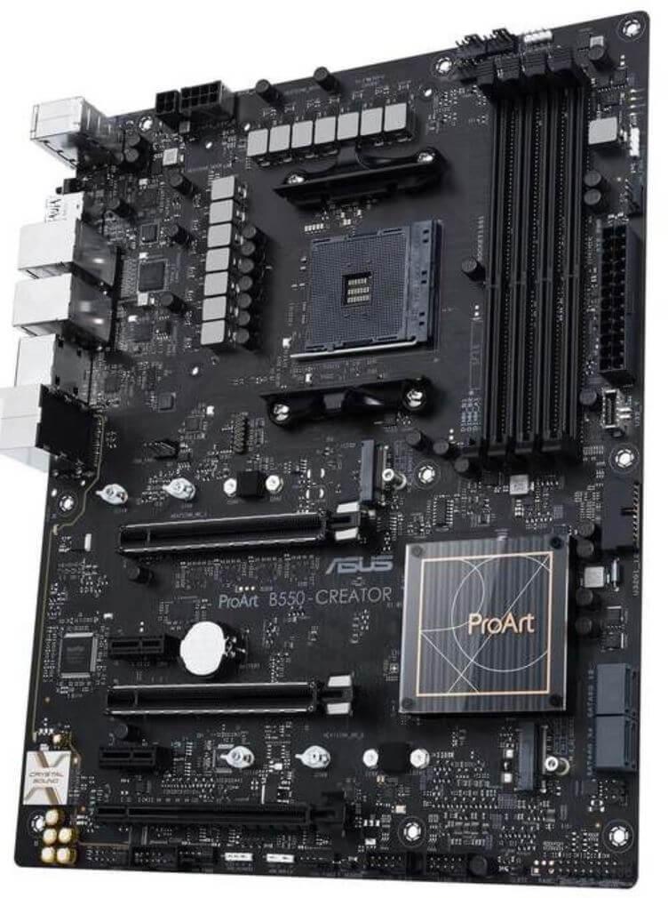 ASUS ProArt B550-Creator Motherboard Announced