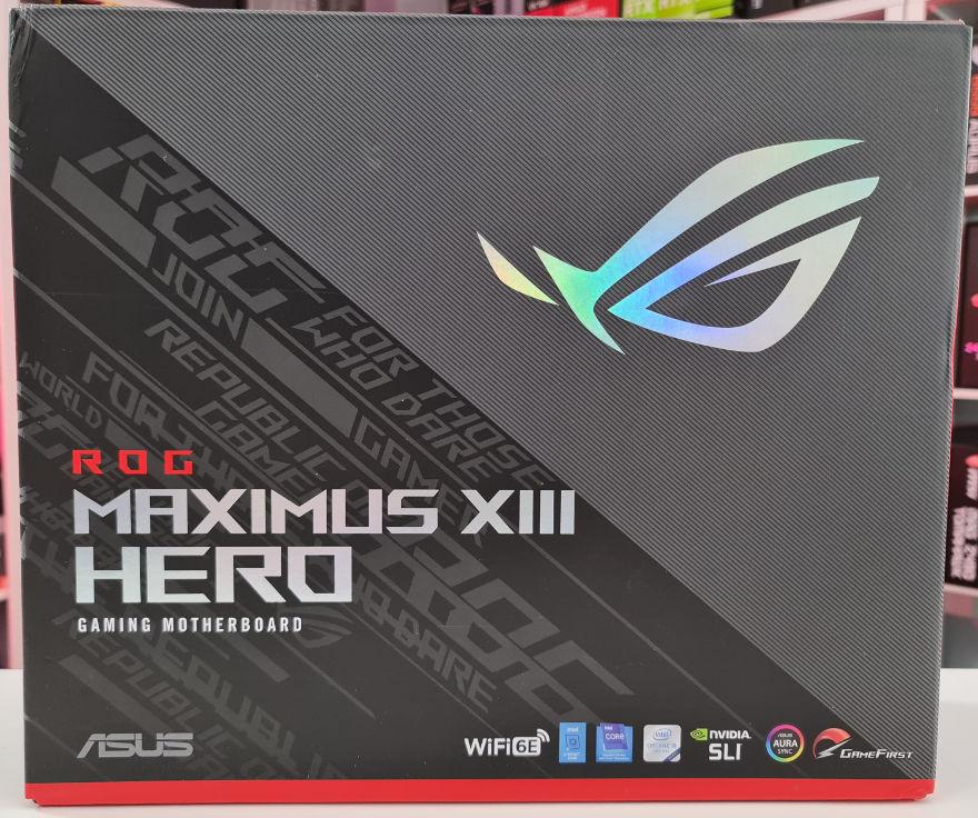 ASUS ROG MAXIMUS XIII HERO Motherboard Box Front