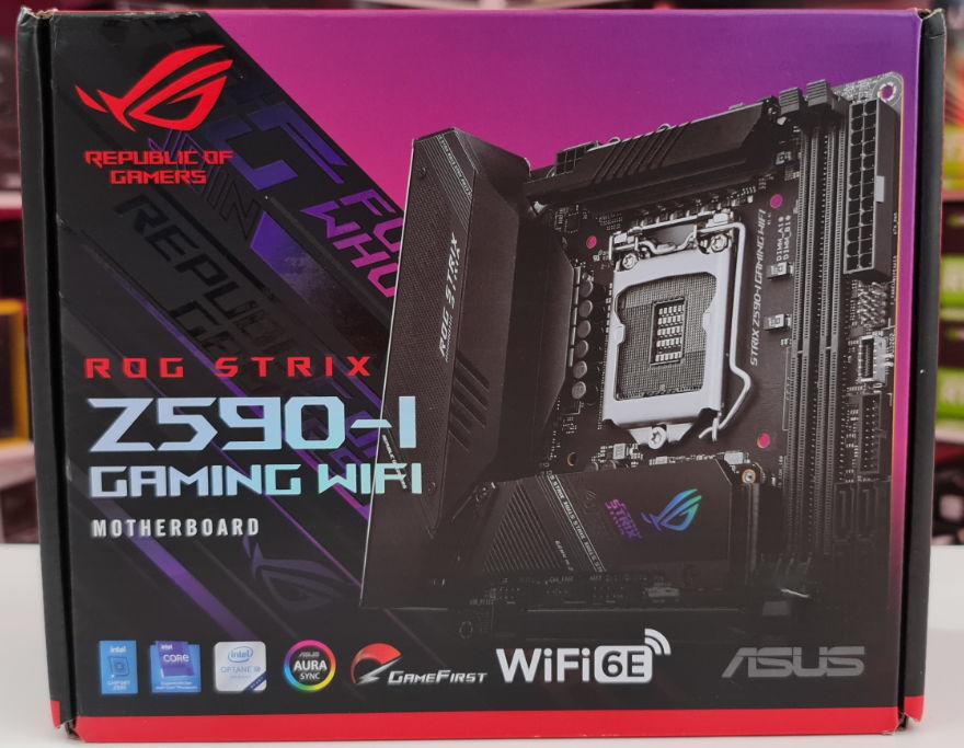 ASUS ROG STRIX Z590-I GAMING WIFI Motherboard