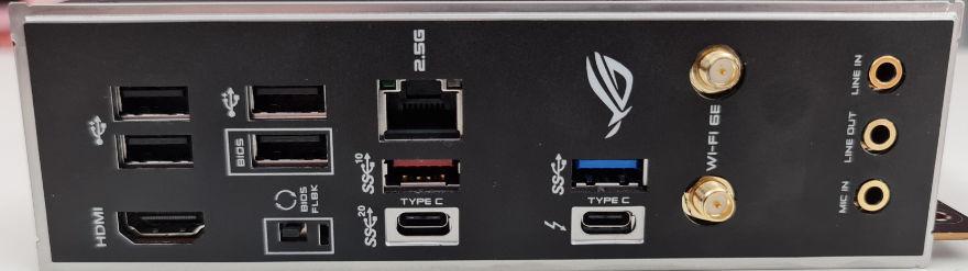 ASUS ROG STRIX Z590I Gaming Wifi io