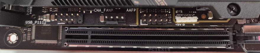 ASUS ROG STRIX Z590I Gaming Wifi motherboard pcie slot