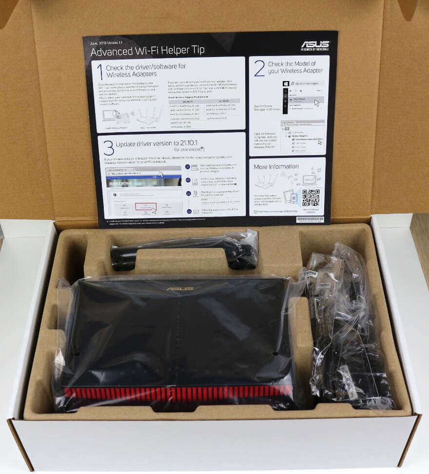 ASUS RT AX86U Photo box 7 open