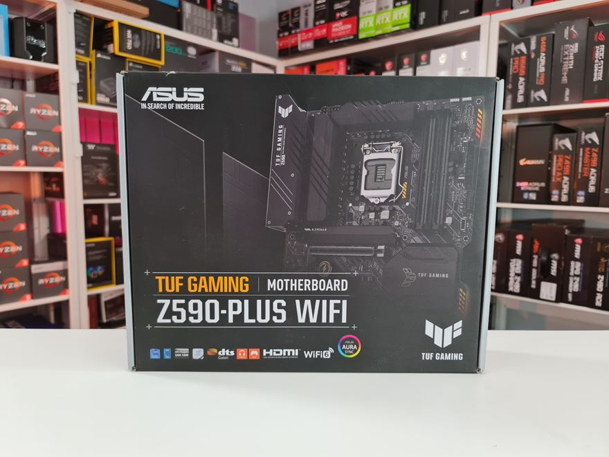 ASUS TUF GAMING Z590-PLUS WIFI motherboard box front
