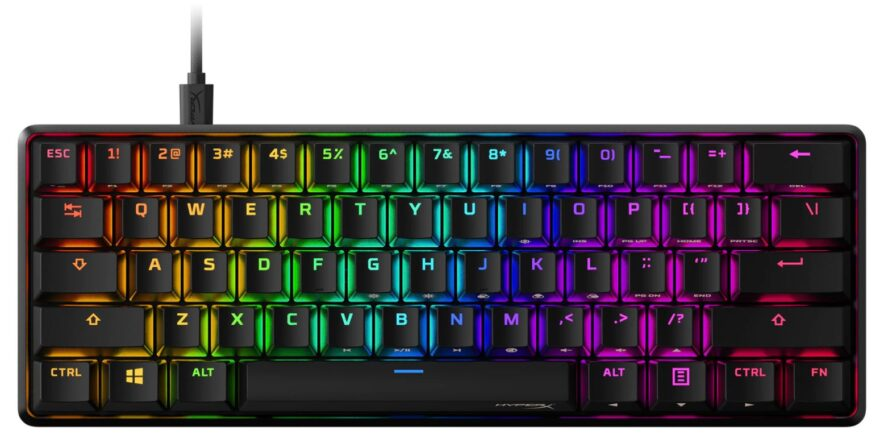 HyperX Alloy Origins 60 Mechanical Gaming Keyboard Now Available