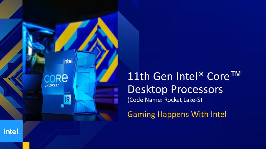 Intel 11th gen cpu