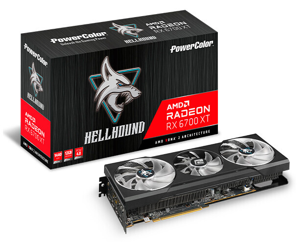 """PowerColor Radeon RX 6700 XT Hellhound, Fighter, and Red Devil """"Launched"""""""