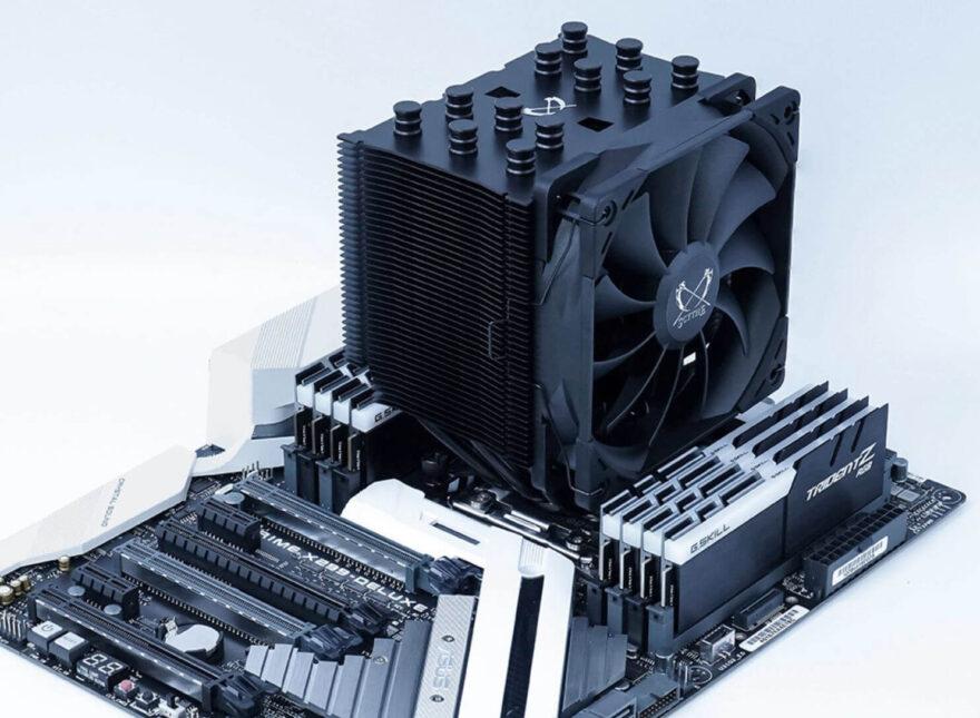 Scythe Mugen 5 Black Edition CPU Cooler Announced