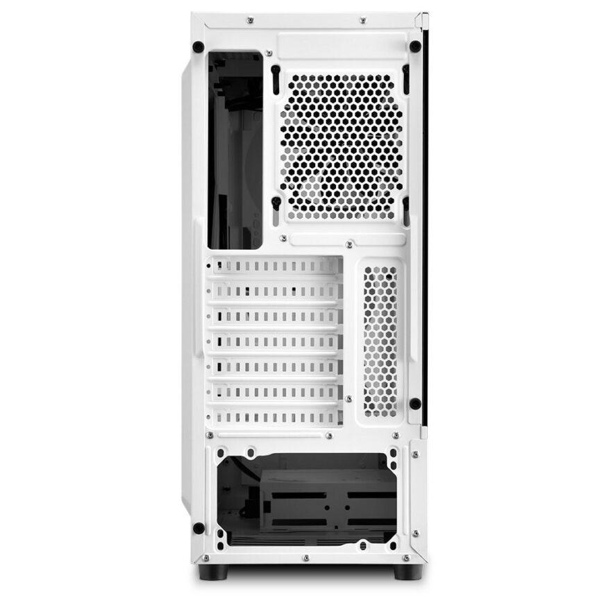 Sharkoon Reveal Affordable RGB Slider White Case