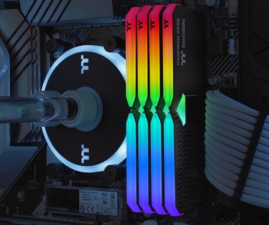 Thermaltake ToughRAM XG RGB DDR4 Memory 5