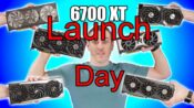 amd rx 6700 xt launch day thumbnail