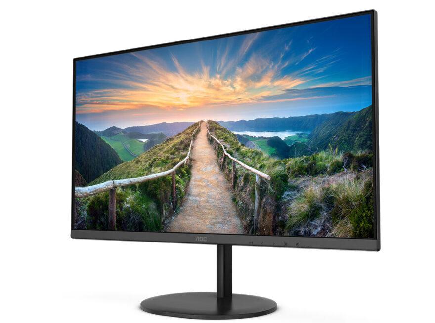 AOC Reveals V4 Monitor Series
