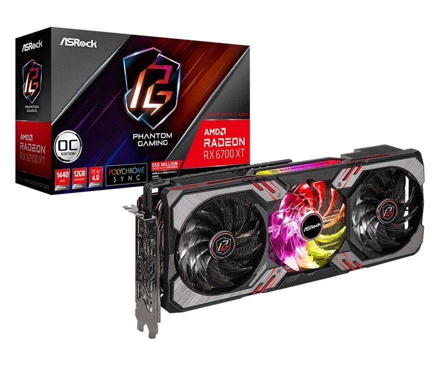 ASRock Announces New RX 6700 XT GPUs