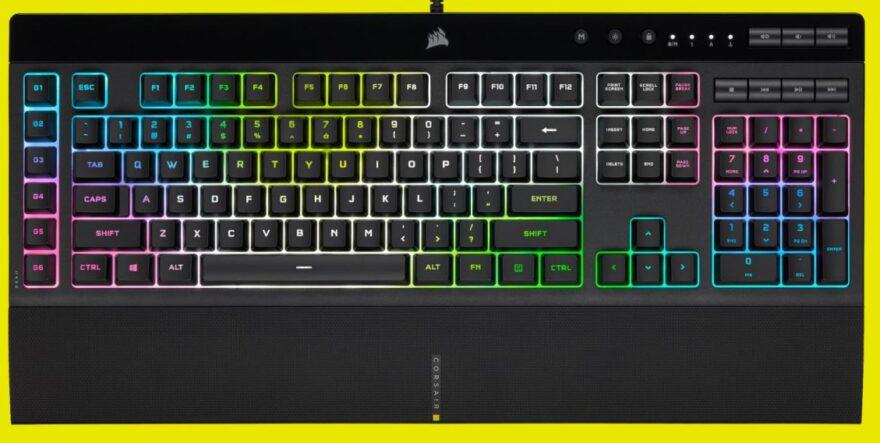 Corsair K55 RGB PRO XT Review