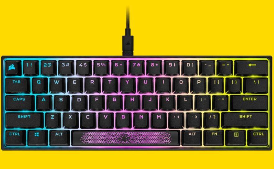 Corsair K65 RGB Mini 60% Mechanical Gaming Keyboard Review