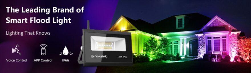 Novostella RGB WiFi Flood Light Review - Ultimate RGB!?