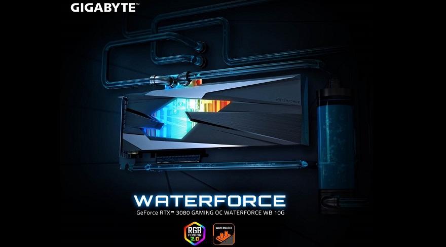 Gigabyte 3080 GAMING OC WATERFORCE WB 10G