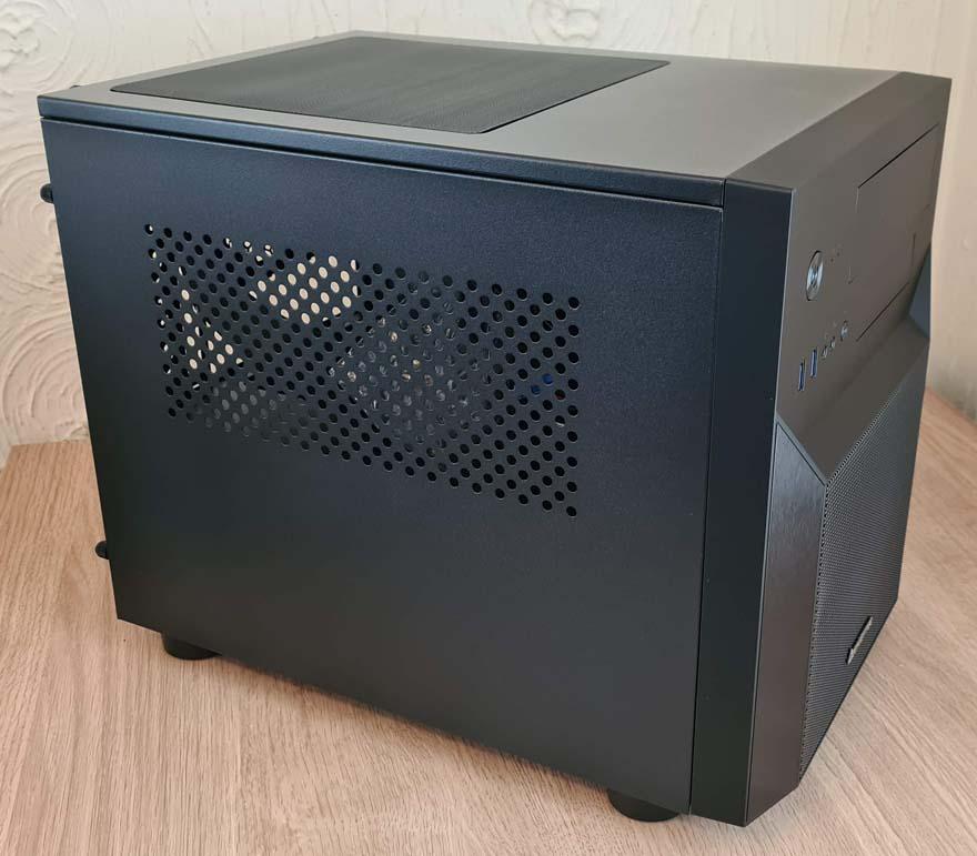1 Chieftec Pro Cube CI 02B OP left