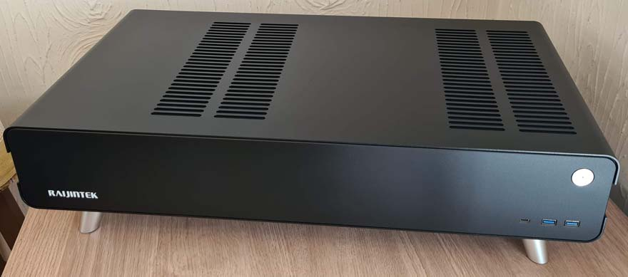 1 Raijintek Pan Slim mini ITX HTPC Case Review