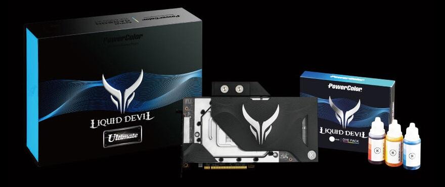 PowerColor 6900 XT Devil Ultimate/Liquid GPUs Revealed