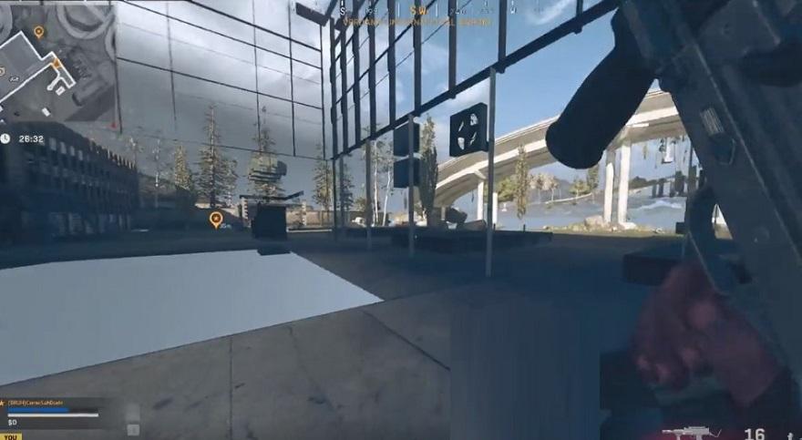 warzone glitch