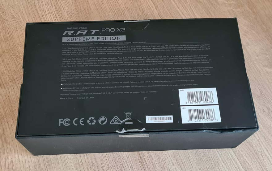 Mad Catz R.A.T. Pro X3 Supreme Edition Gaming Mouse Review