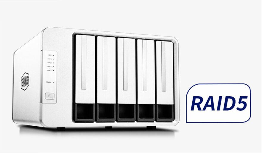 3 TerraMaster Reveal the D5 300 RAID 5 Storage