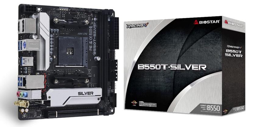 Biostar B550T-Silver Motherboard
