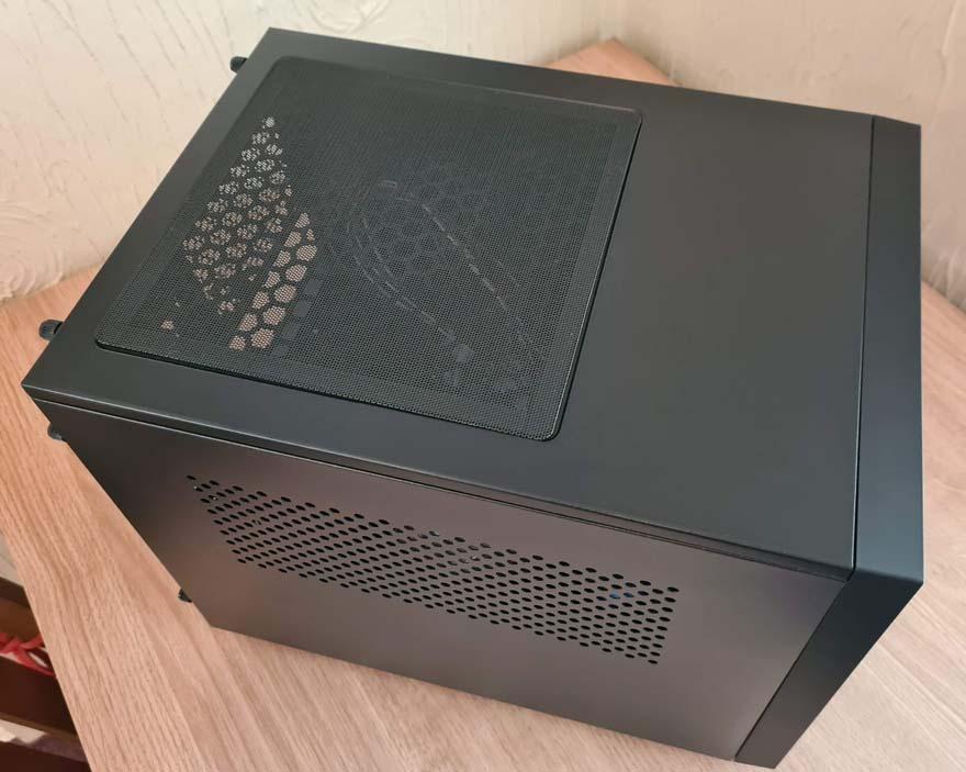 8 Chieftec Pro Cube CI 02B OP top