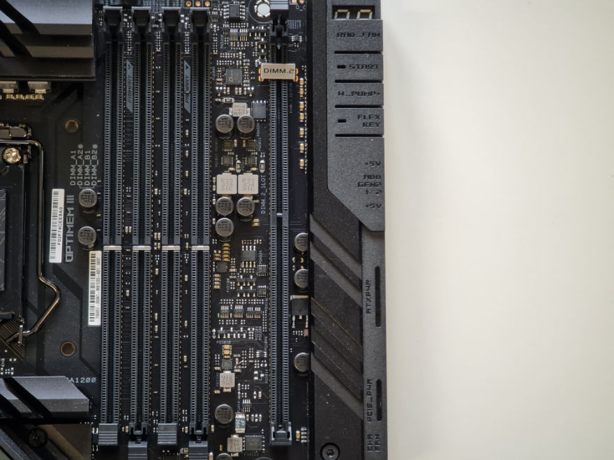 ASUS ROG MAXIMUS XIII EXTREME Motherboard dimm 2