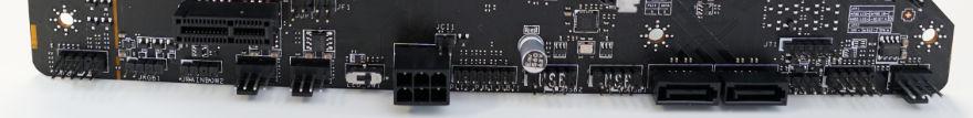 MSI MAG B560 TOMAHAWK WIFI bottom connectors
