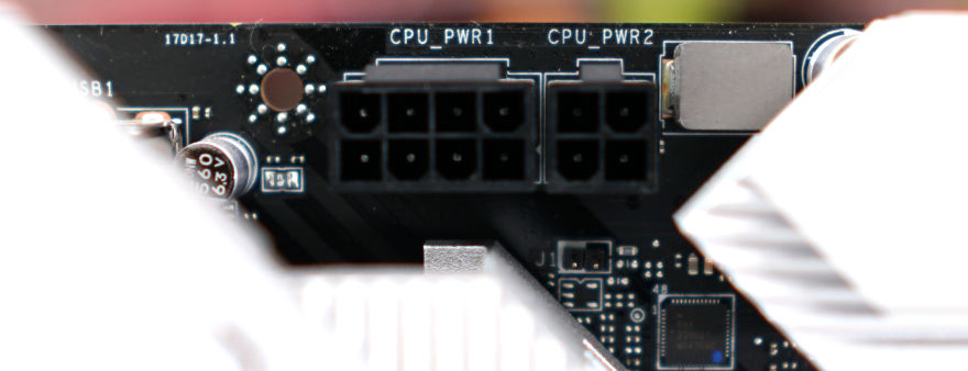 MSI MAG B560M MORTAR WIFI Motherboard EPS power connectors