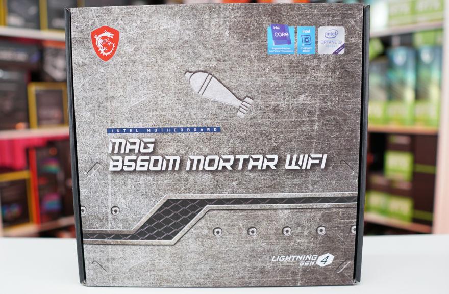 MSI MAG B560M MORTAR WIFI Box Front