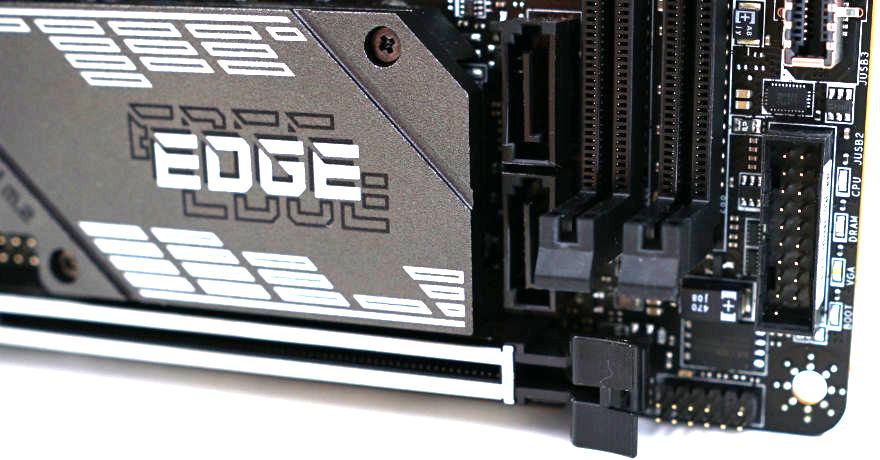MSI MPG B560I GAMING EDGE WIFI front panel 1